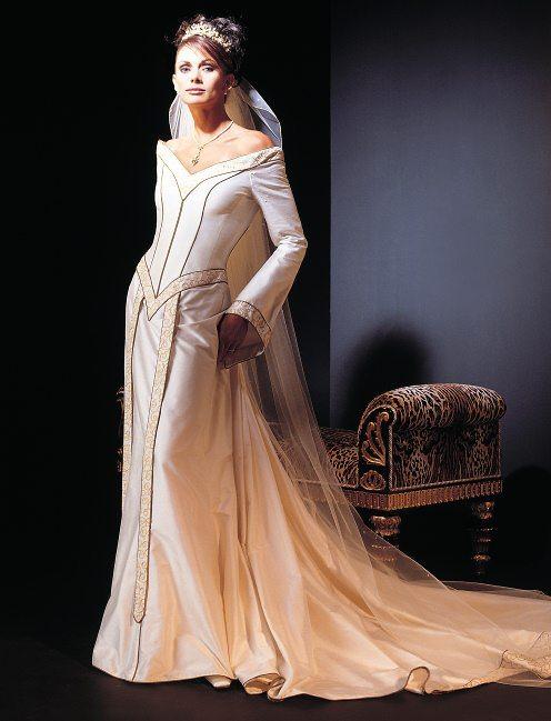 novia medieval y pelirroja   tu boda es ¡Única!