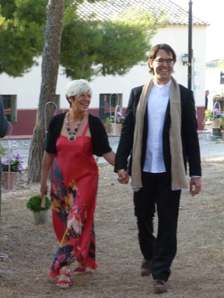 Carlos y mamá